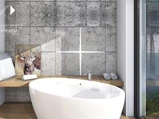 Architekt wnętrz Klaudia Pniak Scandinavian style bathroom