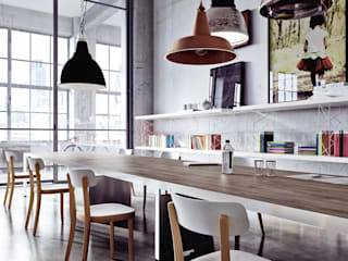 MEETING TABLE di SINETICA INDUSTRIES Moderno