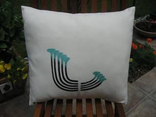 turquoise pillow Melda Başçakır Akdeniz