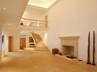 Private Residence - West Sussex Artisans of Devizes Couloir, entrée, escaliers classiques