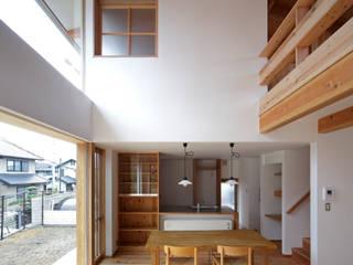 丘リビングの家 オリジナルデザインの ダイニング の 一級建築士事務所 ノセ設計室 オリジナル