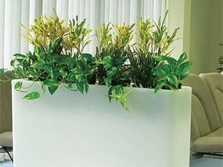 Donice podświetlane: styl , w kategorii  zaprojektowany przez Hydroponika - Wnętrz i zieleń,