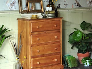 Langley Pine 4 Drawer Chest de The Cotswold Company Rural