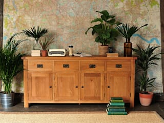 Lyon Oak Extra Large Sideboard de The Cotswold Company Rural