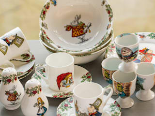 Alice In Wonderland Bone China Homewares The Tea Party Range: classic  by The Alice Boutique, Classic