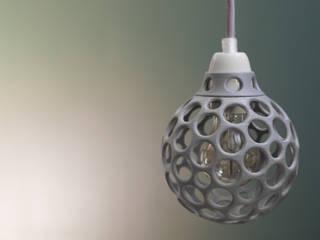 Leuchte Eos in grau:   von Engineering-Art