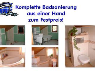 Badplanung und kompletter Badeinbau:  Badezimmer von Bavaria Bäder Technik GbR