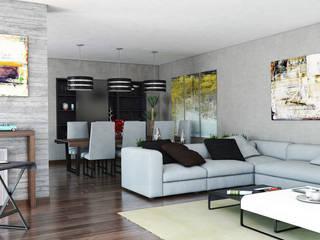 Mariola Báez Modern Living Room