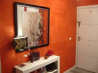 Recibidores y papel pintado Paredes y suelos de estilo moderno de Mda decoración Moderno