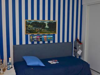 Piso en Palermo I Dormitorios modernos: Ideas, imágenes y decoración de GUTMAN+LEHRER ARQUITECTAS Moderno