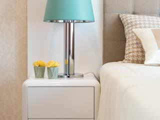 Ângela Pinheiro Home Design Modern style bedroom Cotton Wood effect