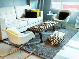 Sala de té: Salas de estilo  por NEST