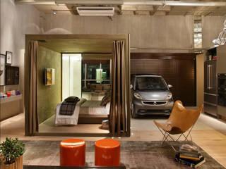Garajes de estilo moderno de Yamagata Arquitetura Moderno