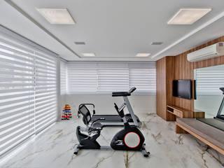 Espaço do Traço arquitetura Moderner Fitnessraum