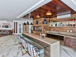 Cucina in stile  di Espaço do Traço arquitetura, Moderno