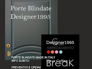 Porta Blindata - Corazzata per la tua sicurezza di STUDIO ARCHITETTURA-Designer1995 Moderno