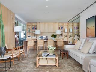 Livings de estilo moderno de Yamagata Arquitetura Moderno