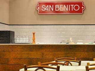 Restaurante San Benito - Centro Flavia Lucas & Adriana Esteves - Arquitetura Espaços gastronômicos modernos