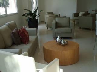 Empreendimentos - Implantação e Produção Salas de estar modernas por E|F DESIGN.INTERIORES.PAISAGISMO Moderno