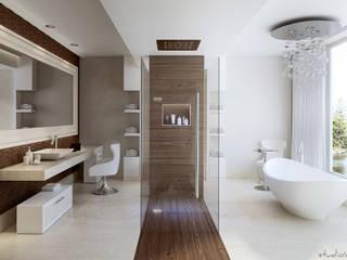 Nowoczesna łazienka od studioviro Nowoczesny