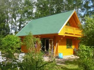 THULE Blockhaus GmbH - Ihr Fertigbausatz für ein Holzhaus Rumah Gaya Rustic