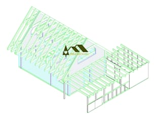 Casas de estilo  por THULE Blockhaus GmbH - Ihr Fertigbausatz für ein Holzhaus