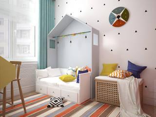 Kinderkamer door «Студия 3.14»