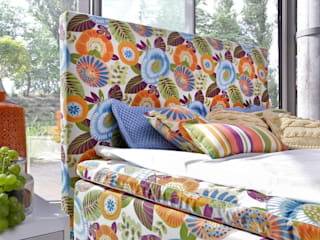 Colourful dreams -Duke Flower Power Bed Swarzędz Home BedroomBeds & headboards