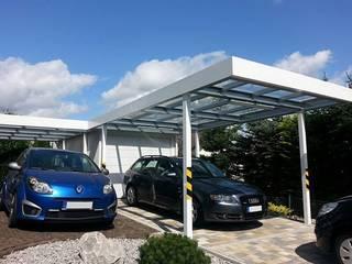 ESB-Fertiggaragen und Carports Garajes de estilo clásico