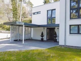 ESB-Fertiggaragen und Carports Nhà để xe/ nhà kho phong cách kinh điển