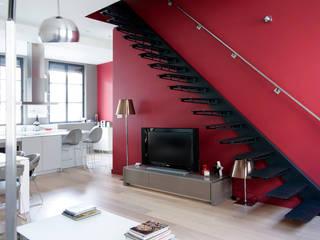 Projekty,  Salon zaprojektowane przez DECO CONCEPT,