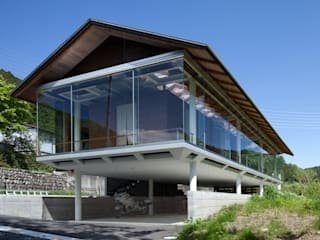 Industrial style houses by H2O設計室 ( H2O Architectural design office ) Industrial