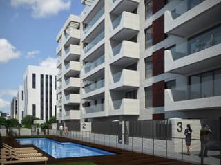 Parcela 2.5 del Sector O3 de Córdoba Casas de estilo moderno de AURIANOVA ARQUITECTOS Moderno