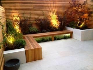 Contemporary Garden Design Balham homify สวน