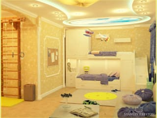 Веллер Хаус: Детские комнаты в . Автор – Stanley Preston Interior