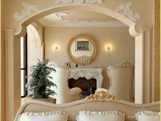 Веллер Хаус: Гостиная в . Автор – Stanley Preston Interior