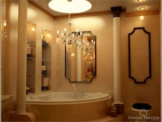 Веллер Хаус: Ванные комнаты в . Автор – Stanley Preston Interior