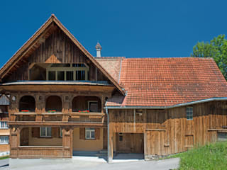 Country style house by heim+müller Architektur Country