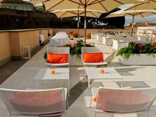 studiomartino.5 Mediterranean style balcony, porch & terrace