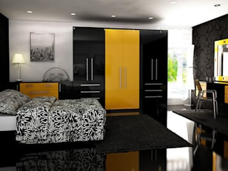 Milan Fitted Bedroom Furniture de Chase Furniture Moderno