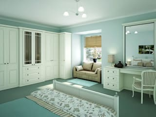 Windsor Fitted Bedroom Furniture van Chase Furniture Klassiek
