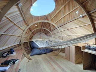 The Exbury Egg Modern living room by PAD studio Modern
