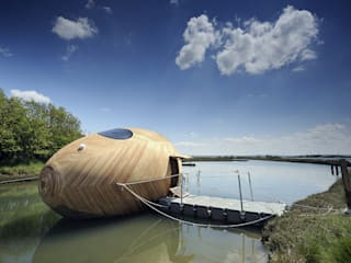 The Exbury Egg in Location: modern Houses by PAD studio