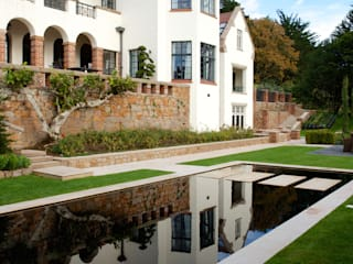 Private Residence - Jersey Artisans of Devizes Klassische Pools