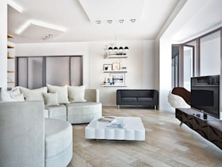 Living room by AbcDesign, Minimalist