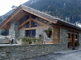 Eddy Cretaz Architetttura Rustic style house