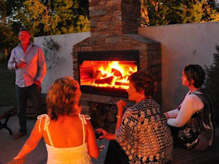 Built in Braai's The Braai Man Garden Fire pits & barbecues