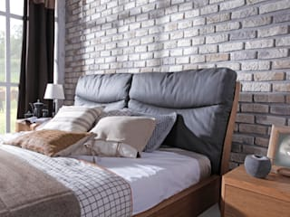 Dream bedroom - rural property Swarzędz Home 寝室ベッド&ヘッドボード