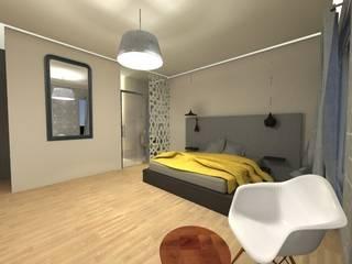 Kamar Tidur oleh SZ Interior Design, Minimalis