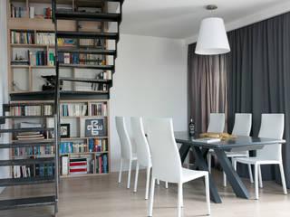 Modern dining room by Jacek Tryc-wnętrza Modern